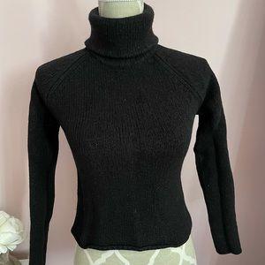 DKNY black sweater turtle neck